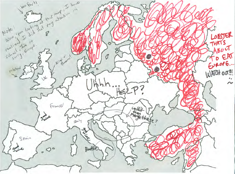 Label A Map Of Europe.Mogul Asked Americans To Label Europe And The Results Are Hilarious
