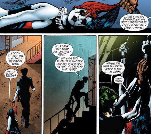I Love Harley LOVE JOKER But Lets Not Aspire To Be Something Of That Sort When It Comes Relationships He Is Constantly Belittling Her Beating