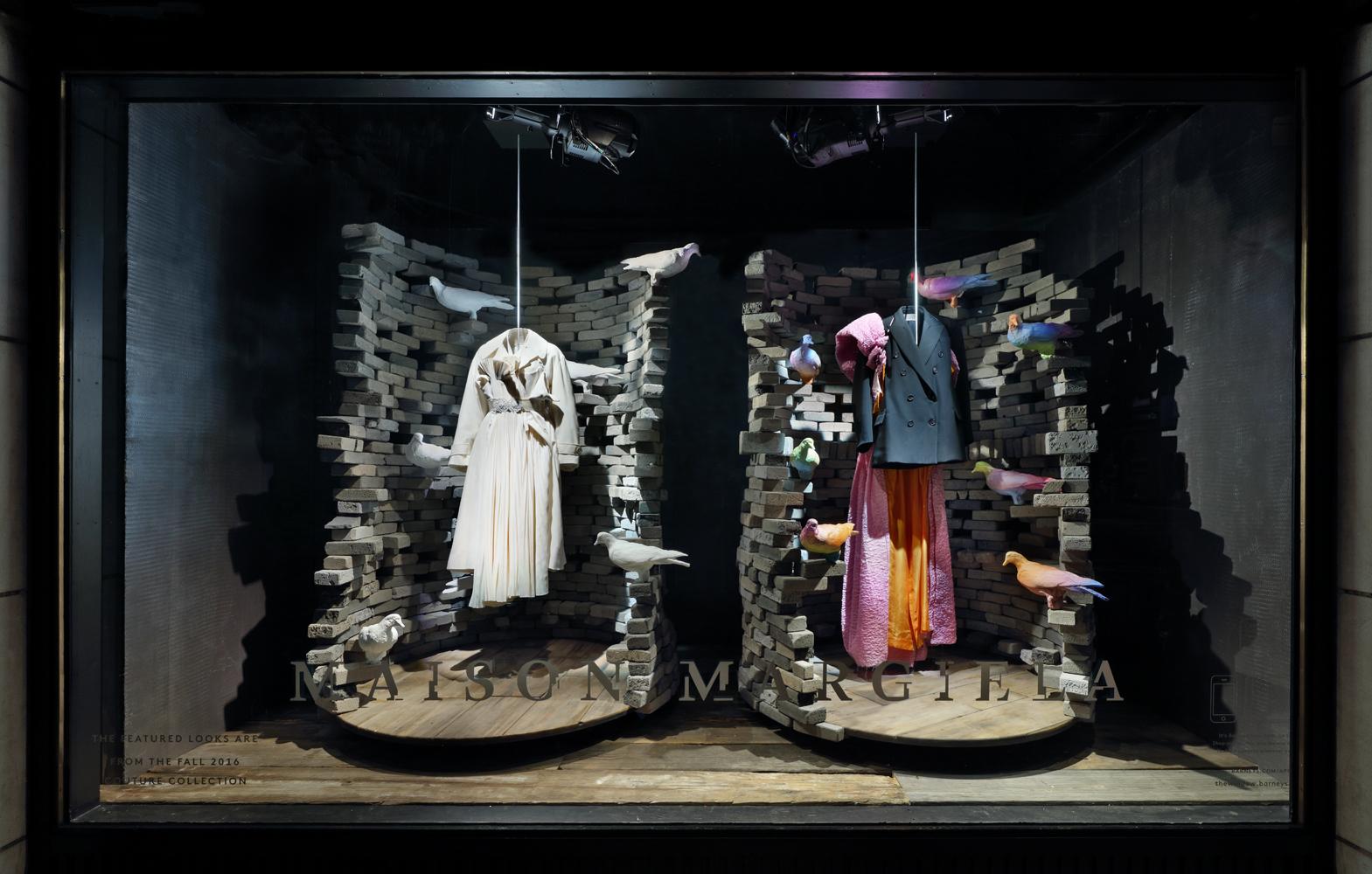Barneys New York Launches Maison Margiela Windows For Fall