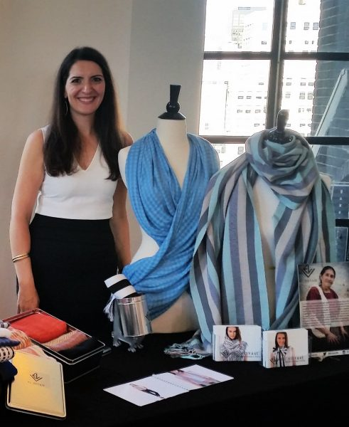 Co-founder Vicky Cohen at the Nolcha Shows in NYC September 2016