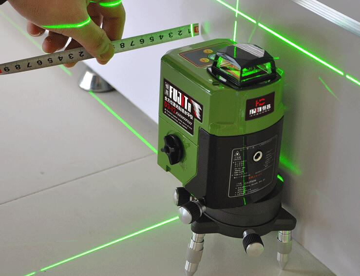 how to use a laser level to level ground