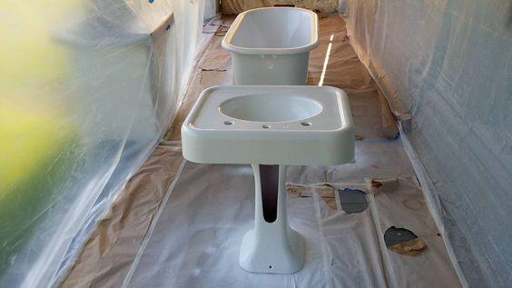 Bathroom Sinks Baton Rouge baton rouge bathroom refinishing | mogul stories