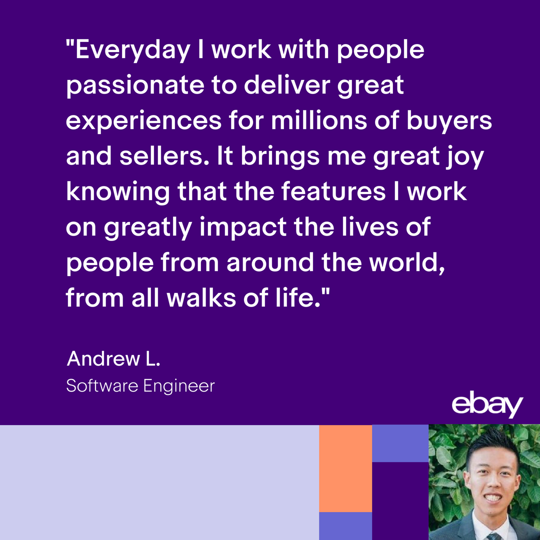 At Ebay You Work Can Impact The Lives Of Entrepreneurs All Around The World Interested In Joining Andrew S Team Explore Opportunities Https Goo Gl Fu8urd Mogul