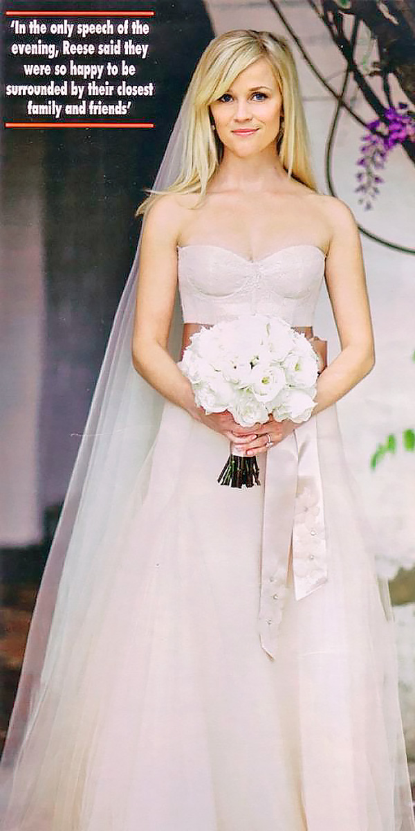 12 The Best Celebrity Wedding Dresses Of All Time - Mogul