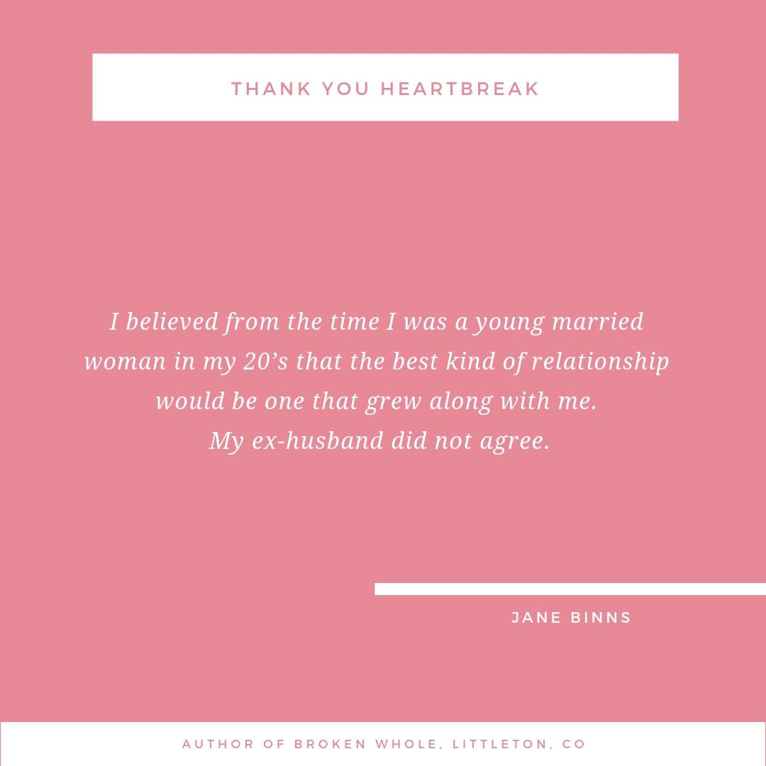 Thank You Heartbreak with Jane Binns - Mogul