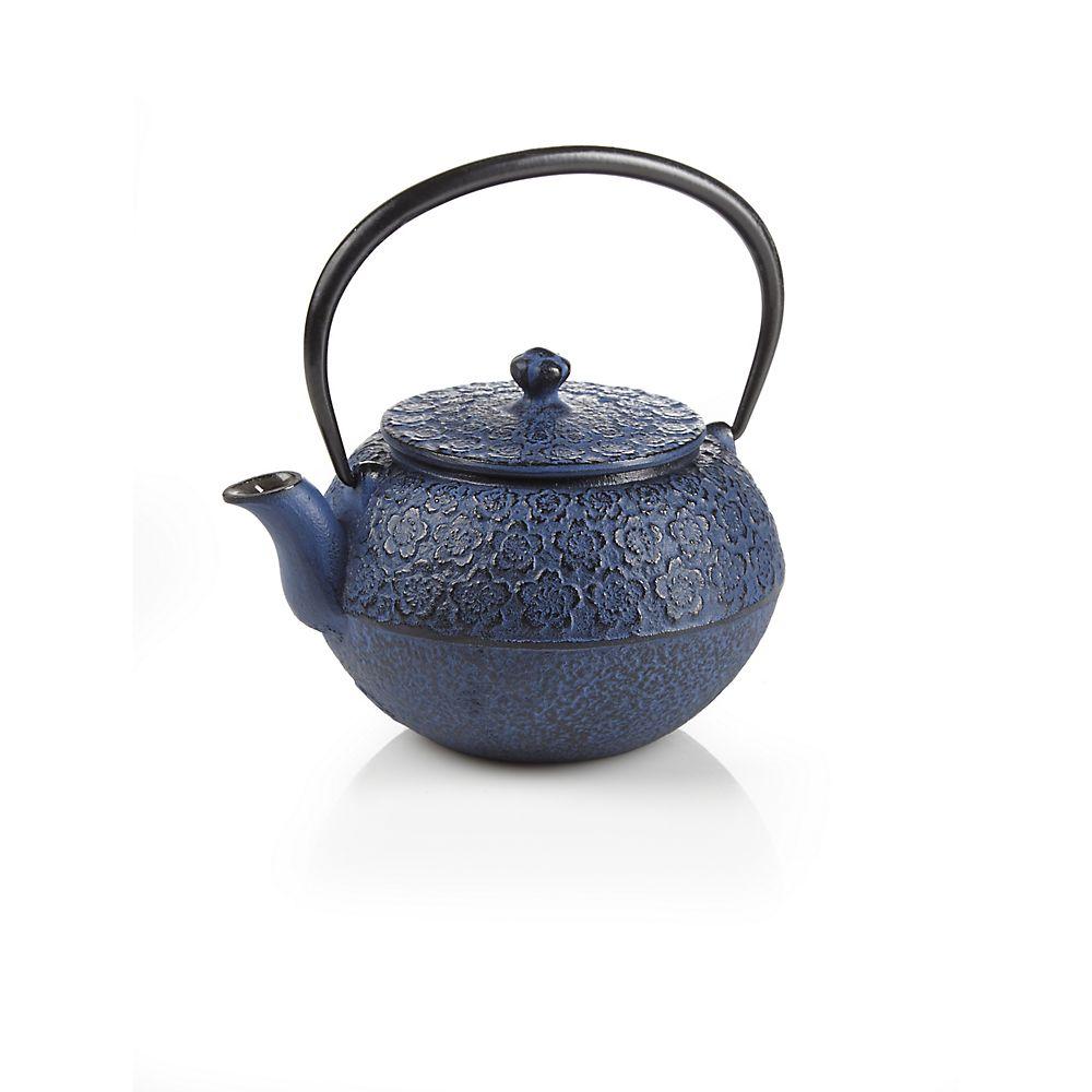 Teavana Sakura Blossom Cast Iron Teapot 22oz Mogul