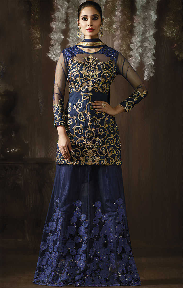 designer indo western dresses for women  gowns style