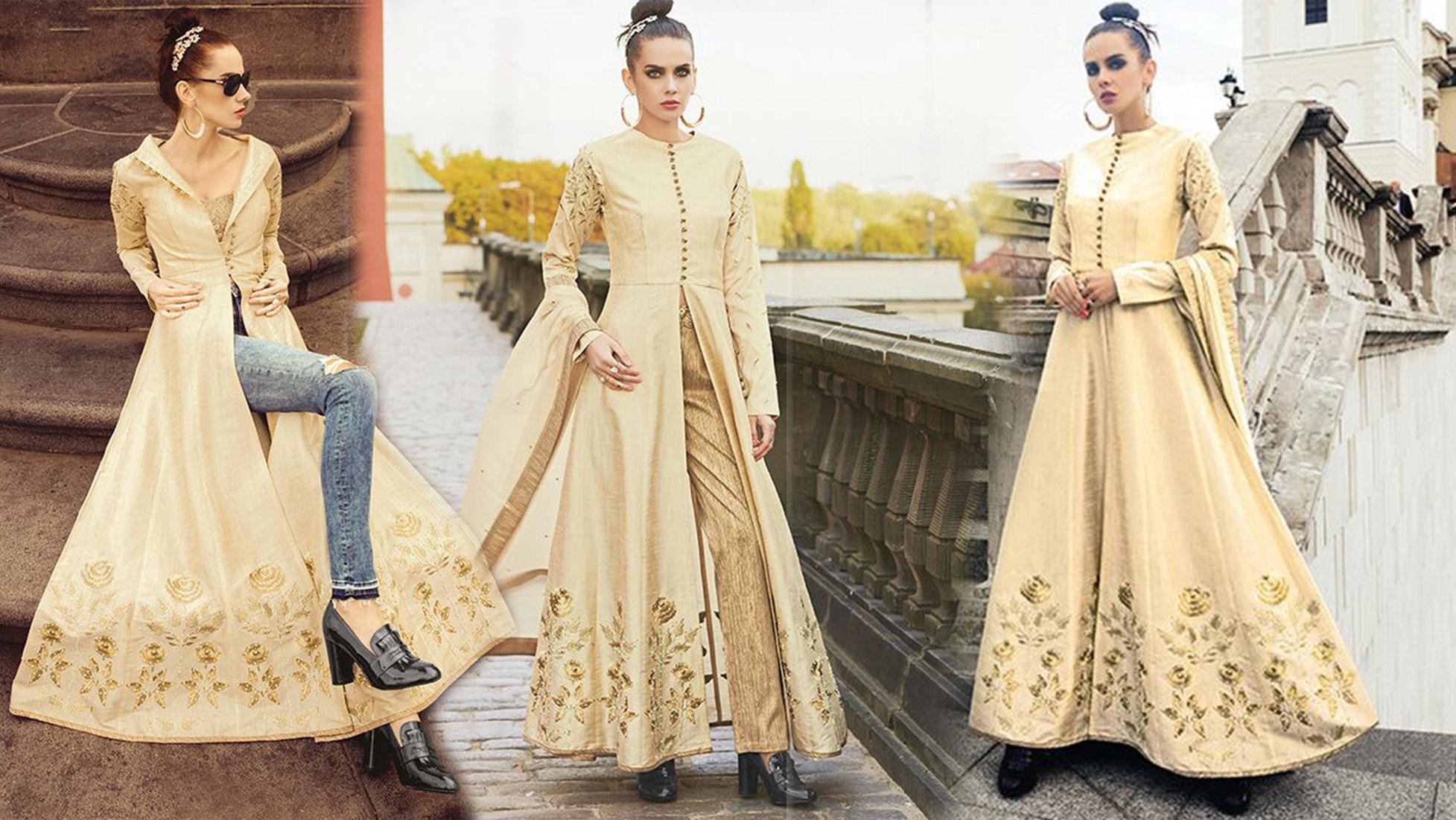 Latest Designer Dresses Designs Indo Western Style