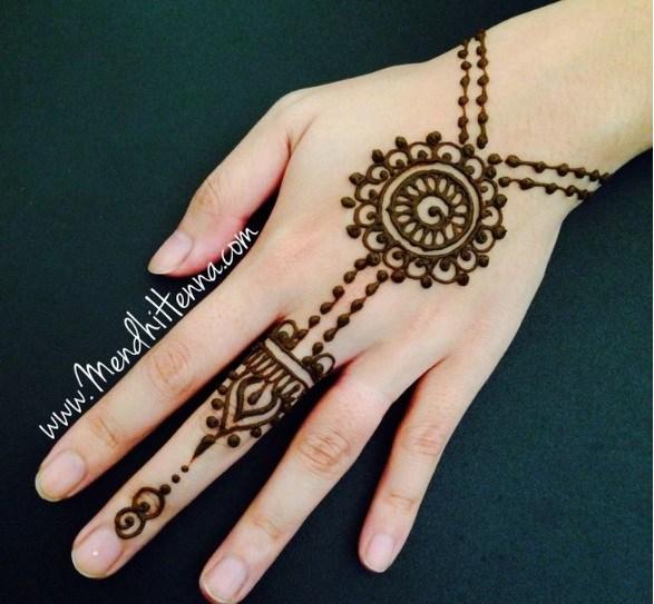 Gambar Henna Yang Bagus Dan Cantik